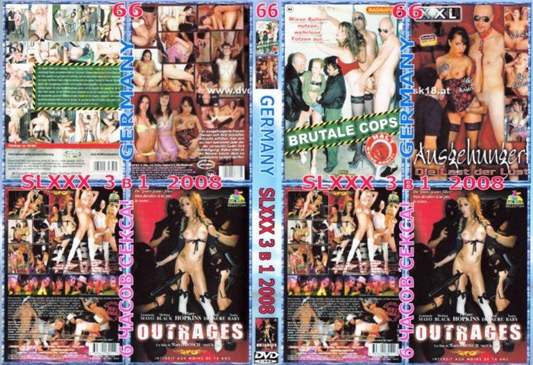 DVD - Порно Сборник Фильмов Жесткого Секса и Насилия 66 - 3 в 1 Оригинал